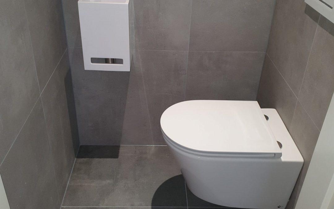 Toiletten en badkamer Steenbergen december 2019