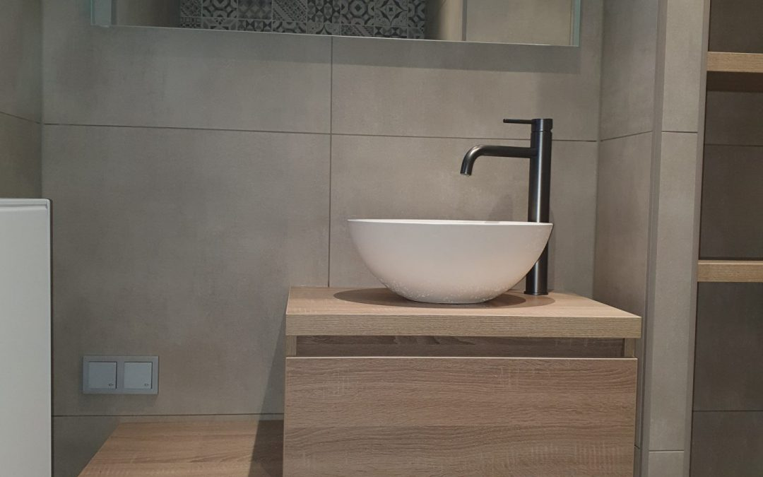 Badkamer Hoogerheide oktober 2020